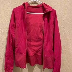 Reversible lululemon maroon jacket